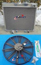 1967-1970 1968 1969 FORD MUSTANG ALUMINUM RADIATOR V8  +  fans