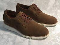 New Size 7W Men's Cole Haan 2.Zerogrand Oxford Shoes Bourbon Suede C25698