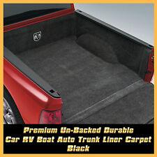 Underlay Underfelt  Felt Car Cab Trunk Cargo Carpet Soundproof 2M x 2M Black