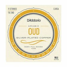 More details for oud strings - arabic - d'addario ej95a - 11 string set cgdafc tuning - tie end