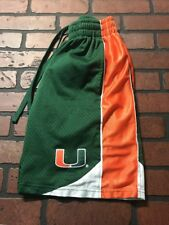 Miami Hurricanes Athletic Gym Shorts Men's Size Small