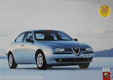 Alfa Romeo 156 Car of the Year English Language Double Sided Poster Manifesto