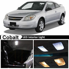 7x White Interior LED Lights Package Kit for 2005-2010 Chevy Cobalt