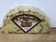 Cheddar Cheese With Walnuts 10% 1.2kg Vegetarian , Chilled Delivery ,