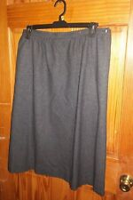"Vtg Pendelton Wool gray lined Pencil Skirt sz 18 36"" Waist 28 long"