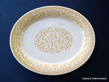 """GINGERSNAP by FRANCISCAN ~SMALL PLATTER 12"""" X 10"""""""