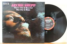 "Archie Shepp LP ""Three For A Quarter, One For A Dime"" ~ Impulse 9162 ~ VG++"