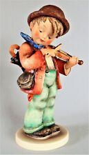 """Large Hummel Figurine Little Fiddler 11"""" 1972 Excellent Condition"""
