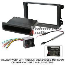 VolKSwagen Car Stereo Radio Dash Installation Mount Bezel Trim Kit Wire Harness