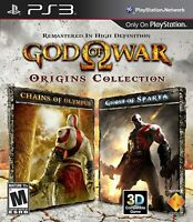 God of War Origins Collection Sony PS3 Game Brand New Factory Sealed USA Version