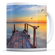 Beautiful Pier Sunset - Drinks Mug Cup Kitchen Birthday Office Fun Gift #14125