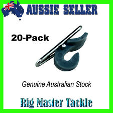 20-Pack Impact Release IMP Clips Imps Hook Release Bait Clip System Aussie Stock