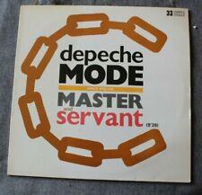 Depeche Mode, master and servant, Maxi Vinyl France