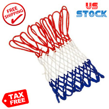 Spalding Basketball Net All-Weather Heavy Duty Outdoor (Red/White/Blue)
