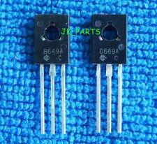 10pairs (20pcs) 2SB649A + 2SD669A B649A + D669A  Transistors