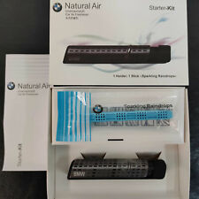Genuine OEM BMW Natural Air Car Freshener Holder + Stick Starter Kit 83122285673