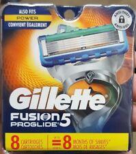 8 Gillette Fusion5 Proglide Blades - GENUINE -