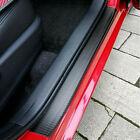 Parts Accessories 2020 Car Door Sill Protector Carbon Fiber Stickers + Scraper