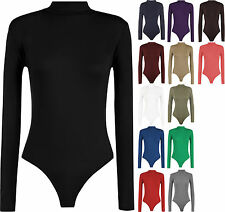 Polo Neck Patternless Plus Size Tops & Shirts for Women