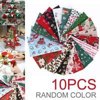 10Pcs 20*25cm Fabric Floral Cotton Fabrics Patchwork DIY Sewing Quilting Cloth