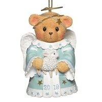 Cherished Teddies 2019 Dated Angel Bell Christmas Ornament  132842