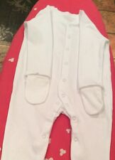 Baby Sleep Suit Sizes 6-24 Month  With Mitts homemade For Babies With Eczema