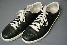 Awesome GUCCI men's black GG supreme sneakers shoes sz 9 1/2 G / US 10 1/2 10.5