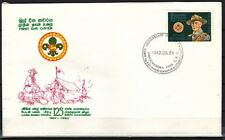 Sri Lanka, Scott cat. 639. Scouting Year issue. First day cover.