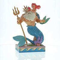 Disney Traditions Daddy`s Little Princess (Ariel & King Triton Figurine)