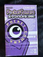 Gameboy Pocket Camera Purple Japanese - Boxed