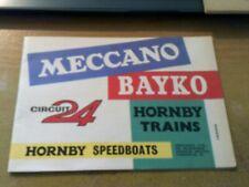 MECCANO, BAYKO, CIRCUIT 24, HORNBY TRAINS & SPEEDBOATS CANADA 7/563/45 CATALOGUE