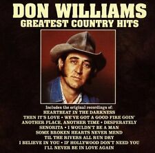 Don Williams - Greatest Country Hits [New CD]