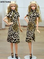 "Chinese Traditional Dress Qipao For 11.5"" Cheongsam Leopard 1/6 Evening Dresses"