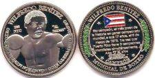 WILFREDO BENITEZ Campeon Boxeo PUERTO RICO New York World Boxing Champion Medal