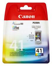 ORIGINAL CANON CL41 BUNT TINTE PATRONEN PIXMA IP1200 IP1300 IP1600 IP1700 IP1800