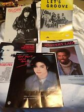 Collector's Selection Sheet Music: Michael Jackson - EW&F - Rick James, Etc
