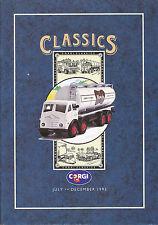 Corgi Classics Modellauto Katalog 12/93 GB 1993 catalog model cars Broschüre