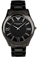 Emporio Armani AR1441 Ceramic Slim Black Dial Watch 0427