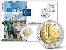 Messing Euro-Gedenkmünzen aus Luxemburg