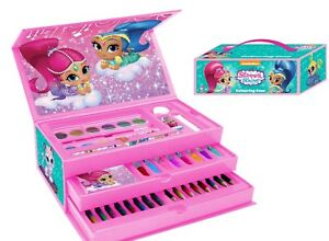 Shimmer and Shine 52 Piece Pink Colouring Case Art Case