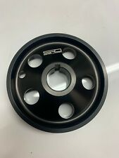 Peugeot 205 GTi Billet Alloy Bottom Pulley - Race - Black - SPOOX