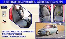 Coprisedili Nissan Cube 2016>  Fodere per auto copri sedili Schienali su misura