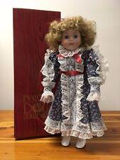 """DYNASTY DOLL COLLECTION Vintage Elinor 16"""" Porcelain Doll (#D379.00)"""