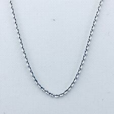 Genuine 925 Sterling Silver 1.5mm Rolo Necklace Chain - 20''(50cm)