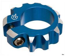 Brave Pogo Single Bolt Seat Clamp - 25.4mm – Choose colour: Punk Blue/ Gold/ Red