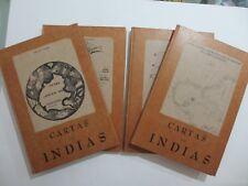 Cartas De Indias - Miguel Ángel Porrúa Editor -4 Tomos ( 2,3,4,5)