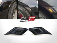 (2) Smoke LED Dual Side Indicators Markers Turn Lights For Scion FR-S Subaru BRZ