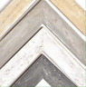 """Wormwood Flat Picture Frame, Driftwood, White, Sand, Light Grey, Grey, 1 3/4"""""""