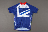 Team GB Olympic Games London 2012 Cycling Top Jersey Adidas Men - SIZE M
