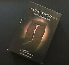 One World Tarot Deck And Book Set OOP RARE ISBN 1-57281-337-7 Very Good